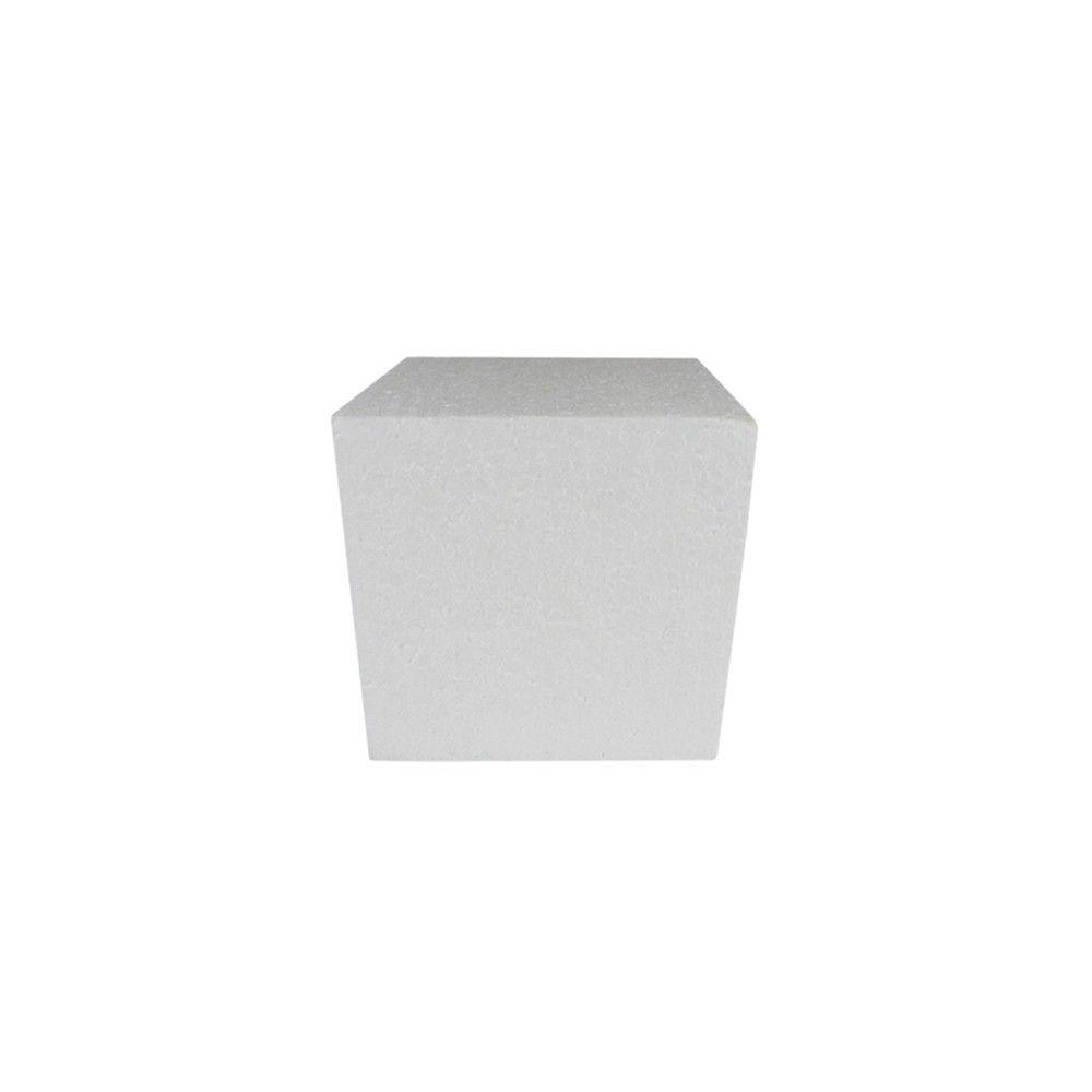 Cubo em isopor 7,5x7,5x7,5cm
