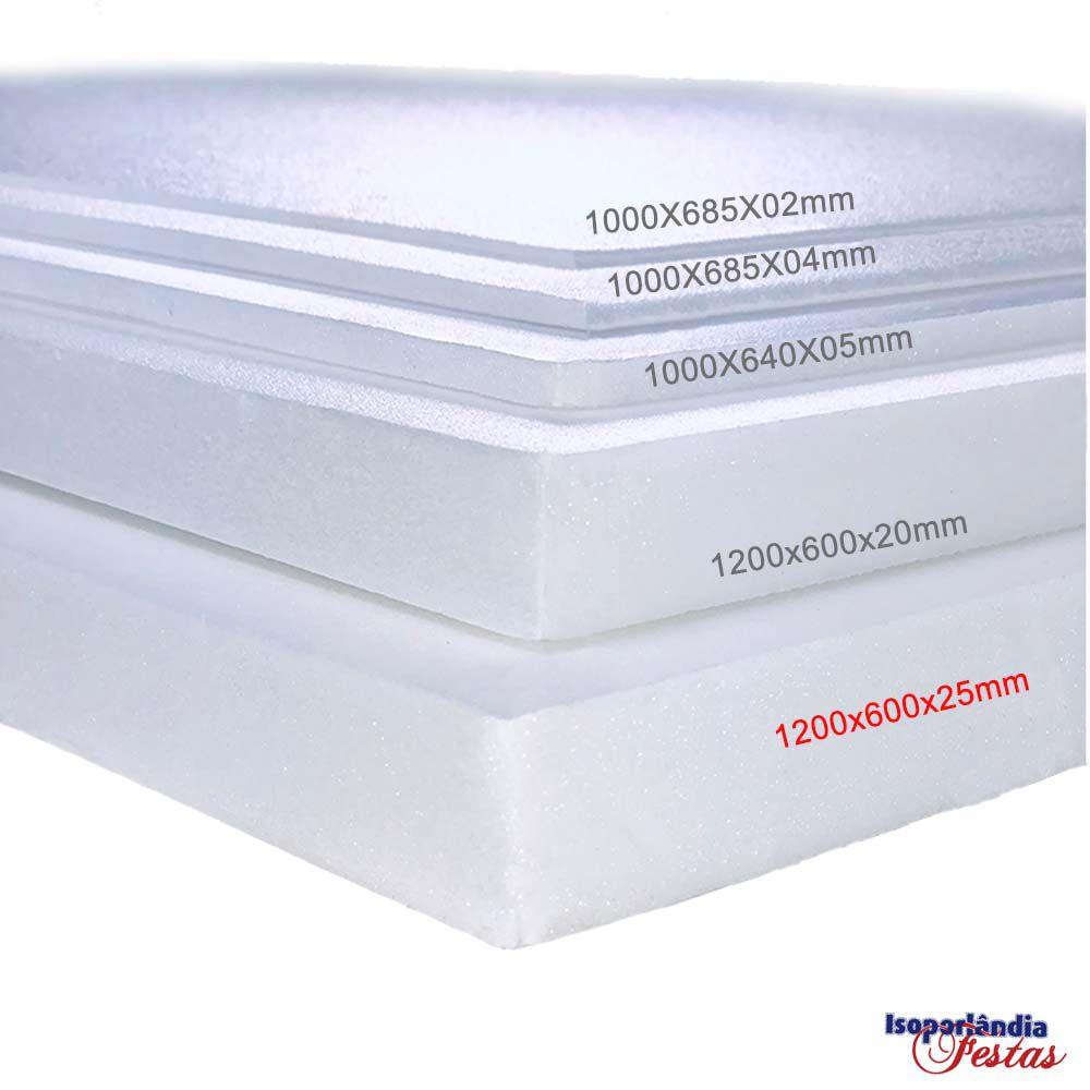 Depron 1200x600x25mm