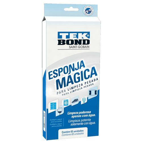 Esponja Mágica Tek Bond C/03