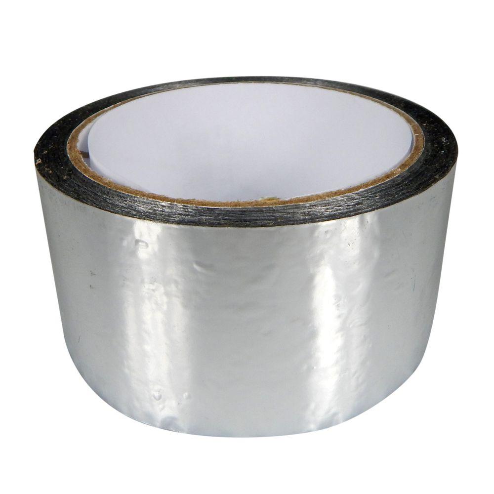 Fita Adesiva Metalizada Prata 4,8cmx50m