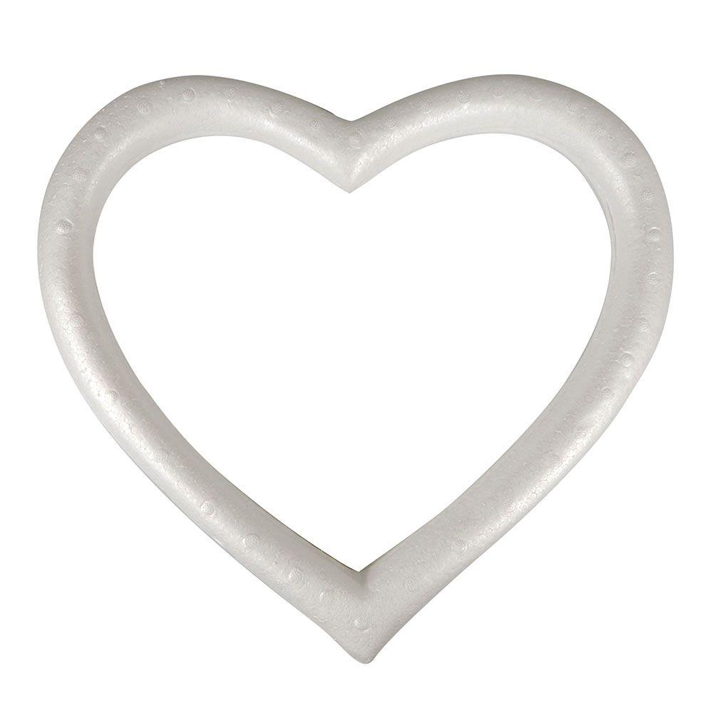 Guirlanda Coração em isopor 420 01UN
