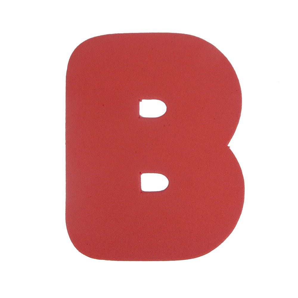 Letra Eva B 4,5cm
