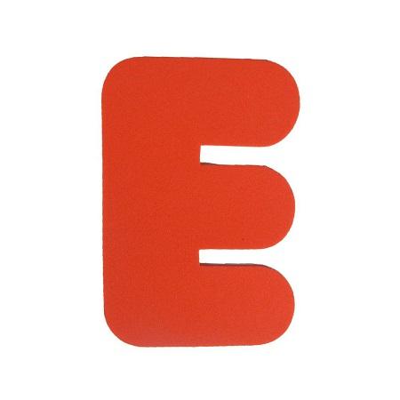 Letra EVA E 20cm