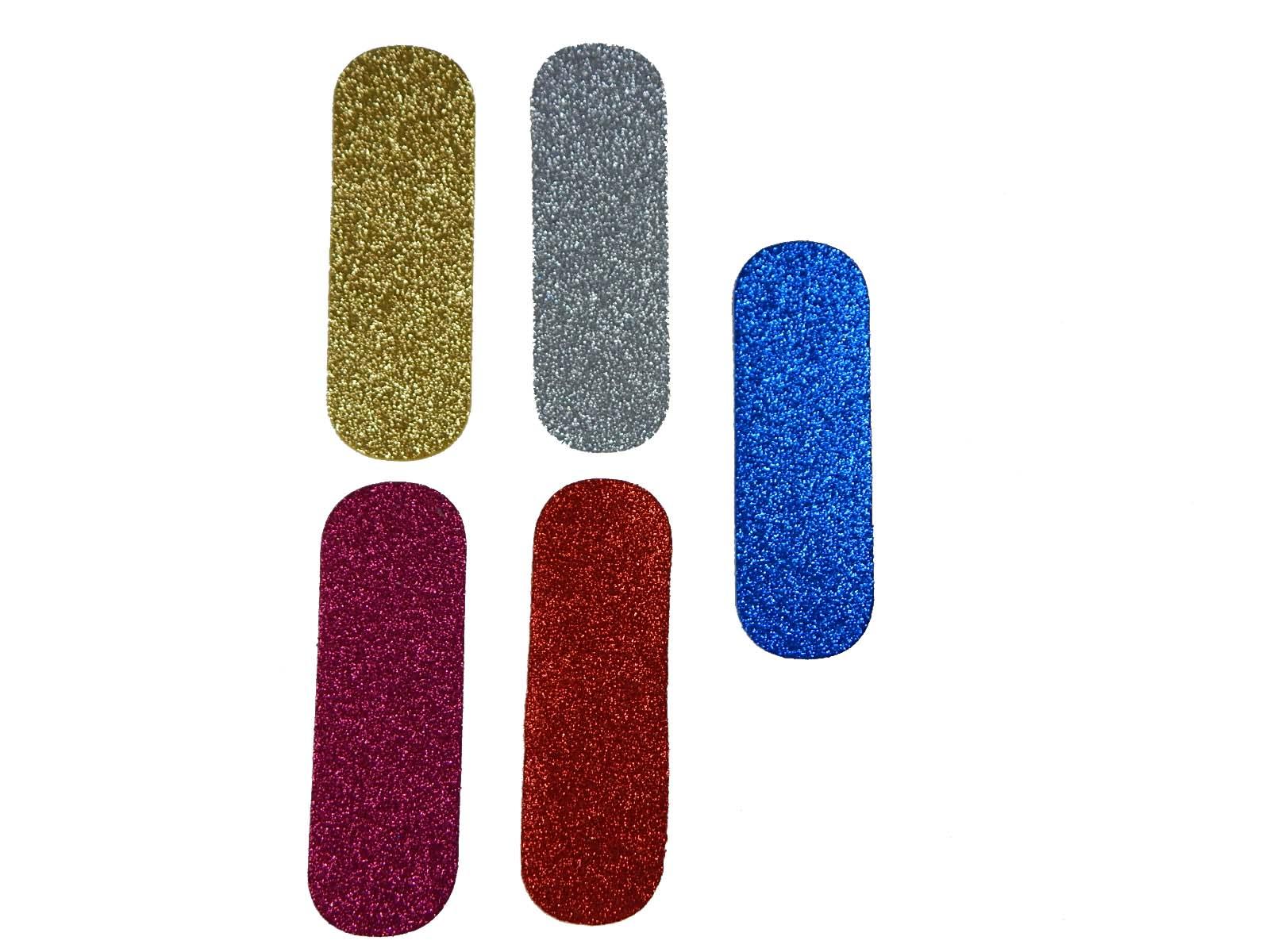 Letra Eva I 12cm Glitter