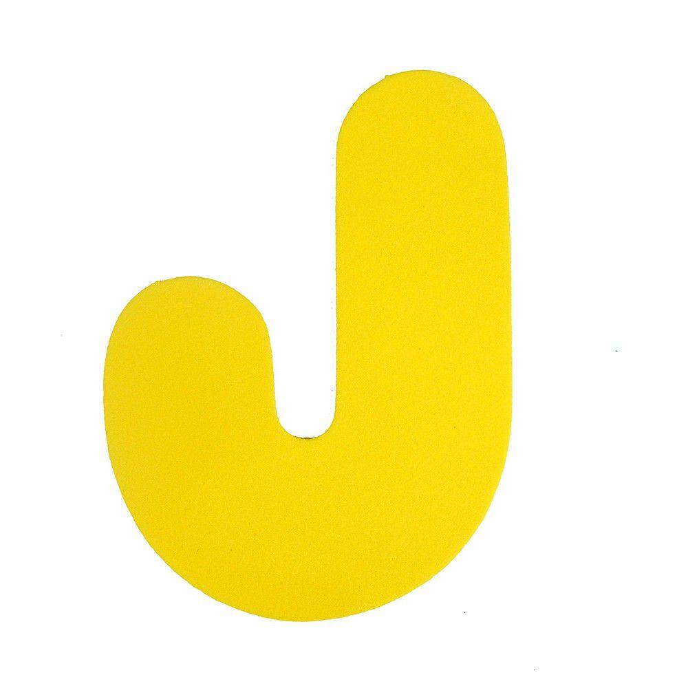 Letra EVA J 12cm