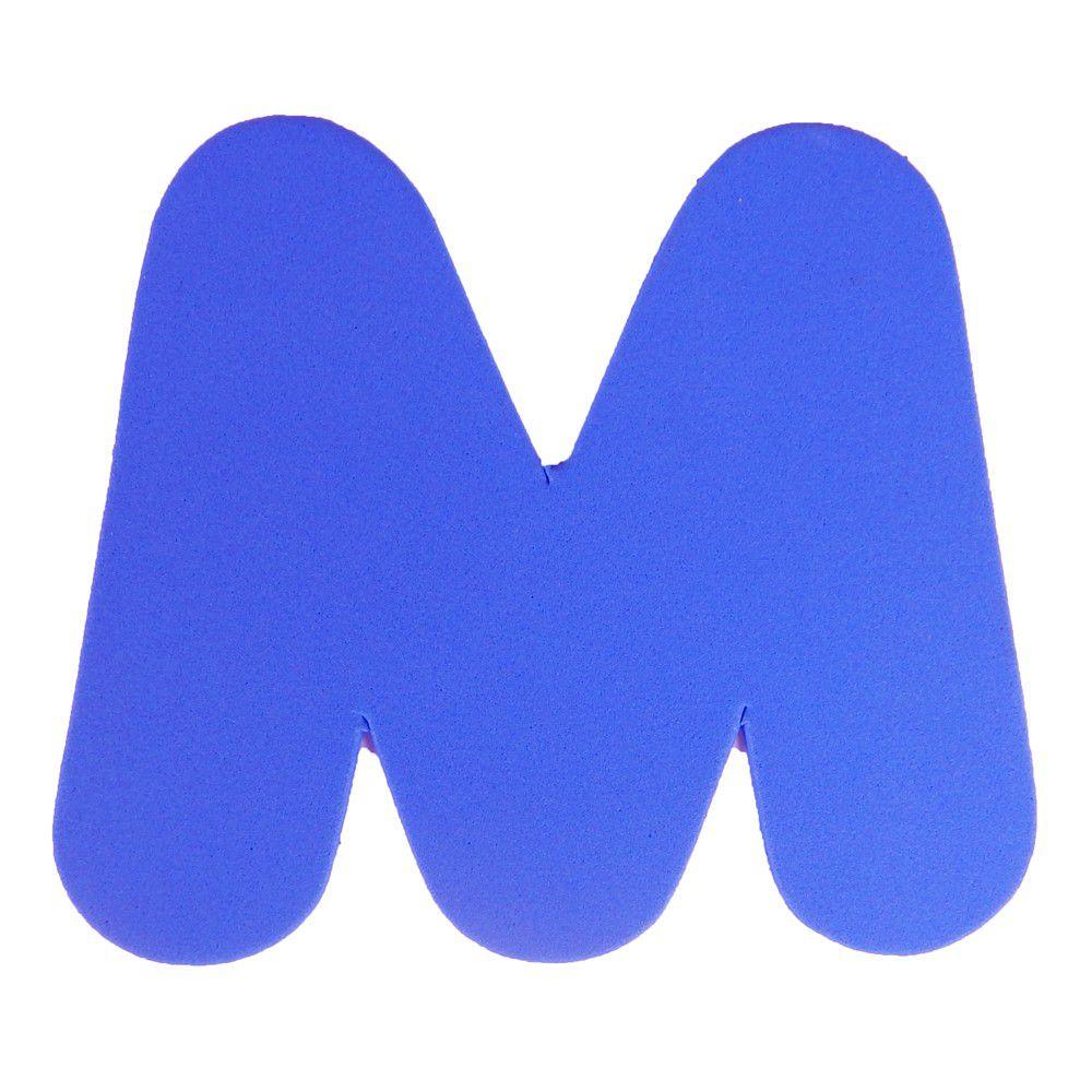 Letra EVA M 12cm