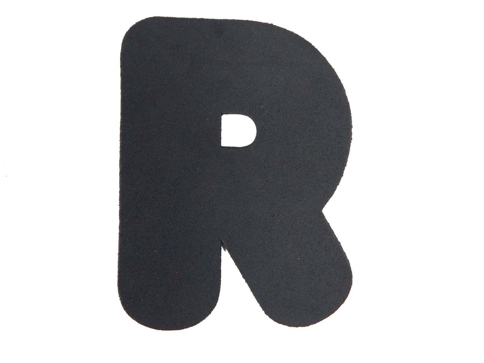 Letra EVA R 12cm