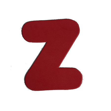 Letra EVA Z 12cm