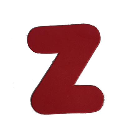 Letra Eva Z 4,5cm