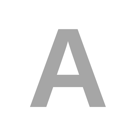 Letra Isopor 100cm Altura x 5cm espessura