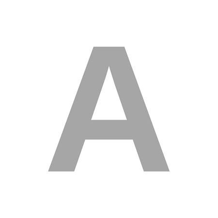 Letra Isopor 30cm Altura x 10cm Espessura