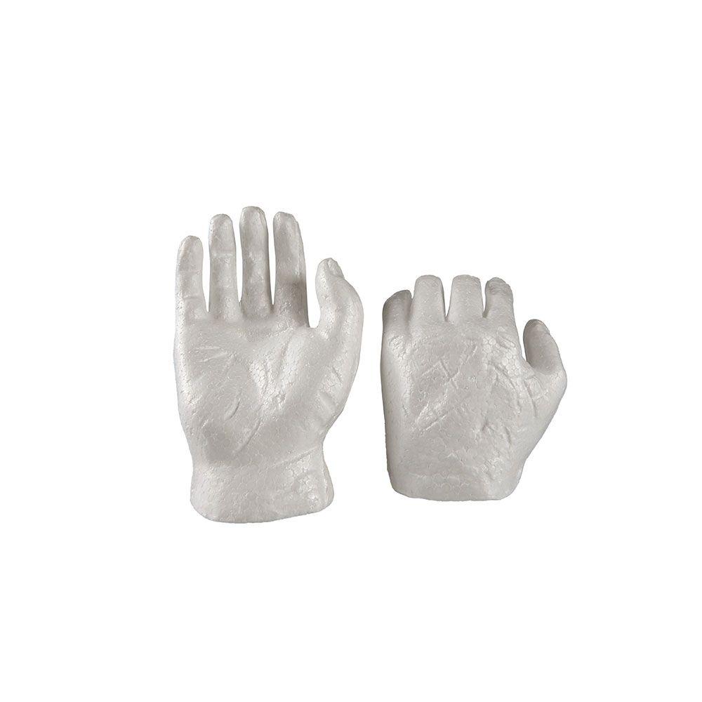 Mãos de Personagens em Isopor 01UN