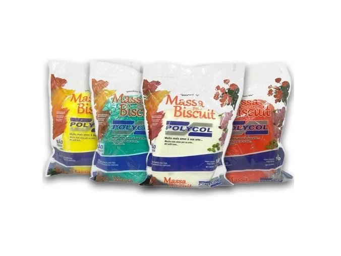 Massa para Biscuit Polycol Cores 1000g