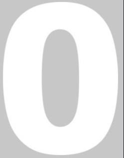 Numero Isopor 30cm Altura x 4cm Espessura