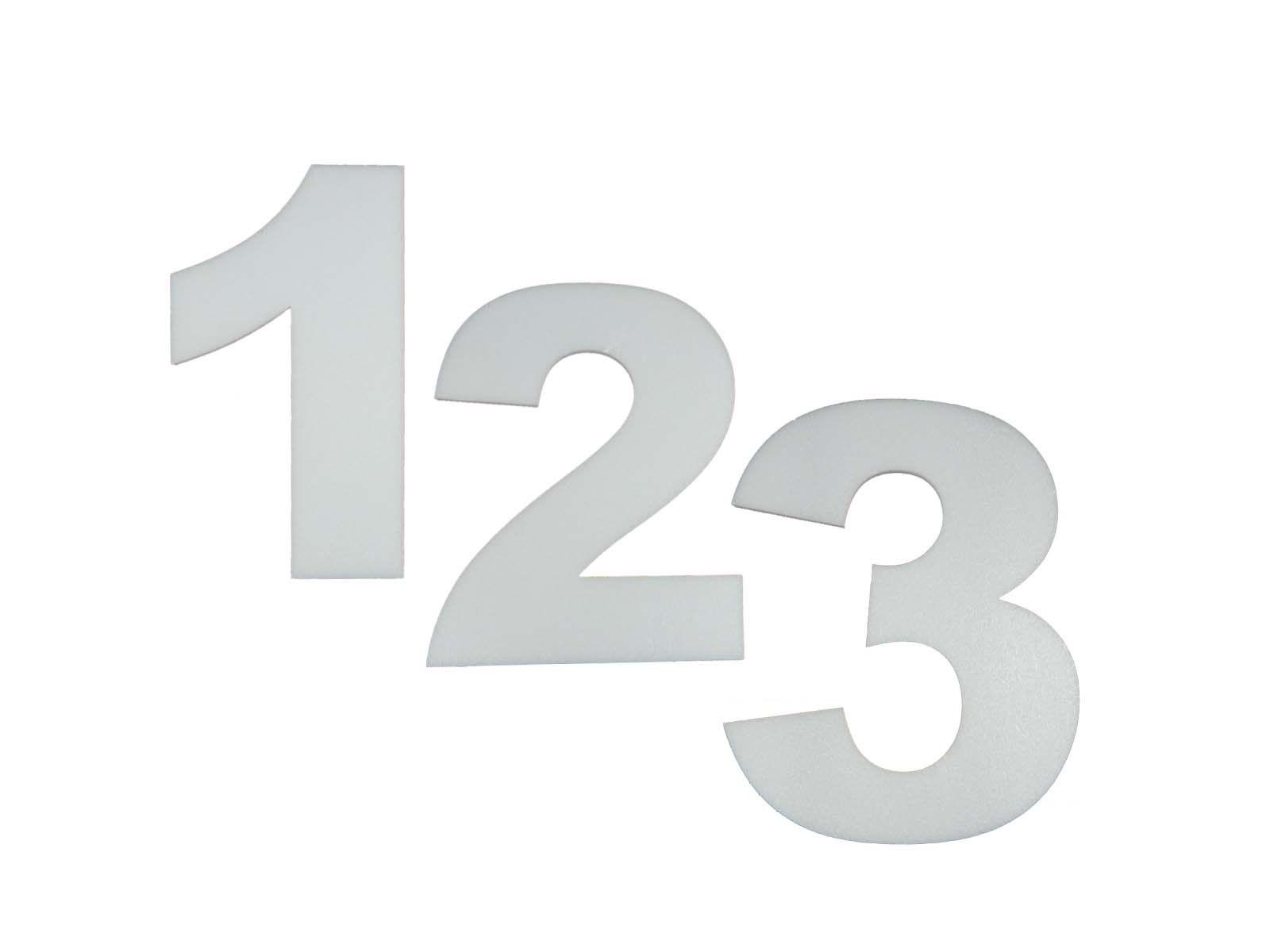Numero Isopor Depron 10cm