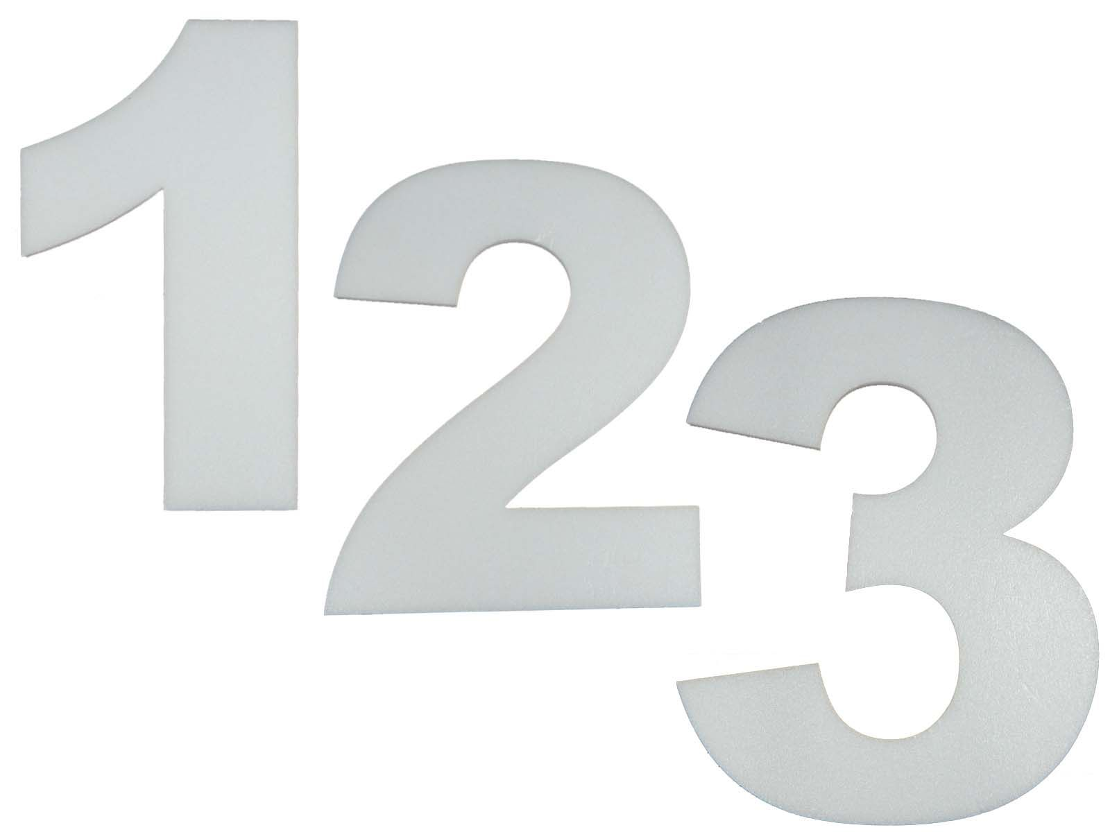 Numero Isopor Depron 20cm