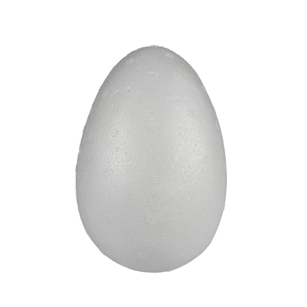 Ovo Páscoa Oco em Isopor 150g 15x11cm 1UN