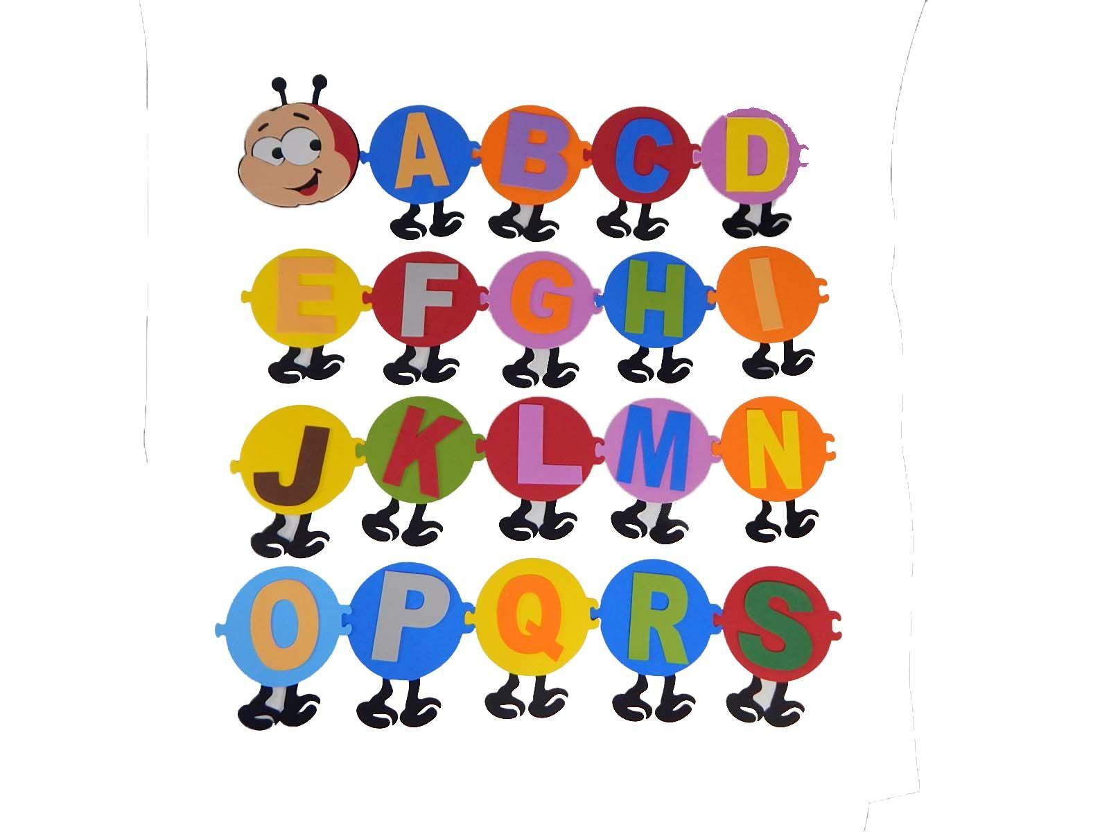 Painel Eva Centopeia Alfabeto