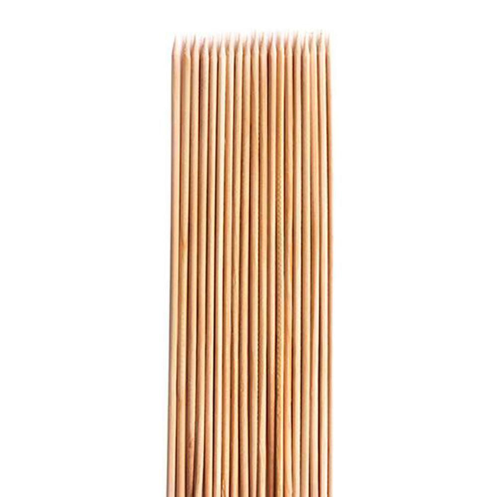 Palito de Bambu para Churrasco 25 cm 100UN
