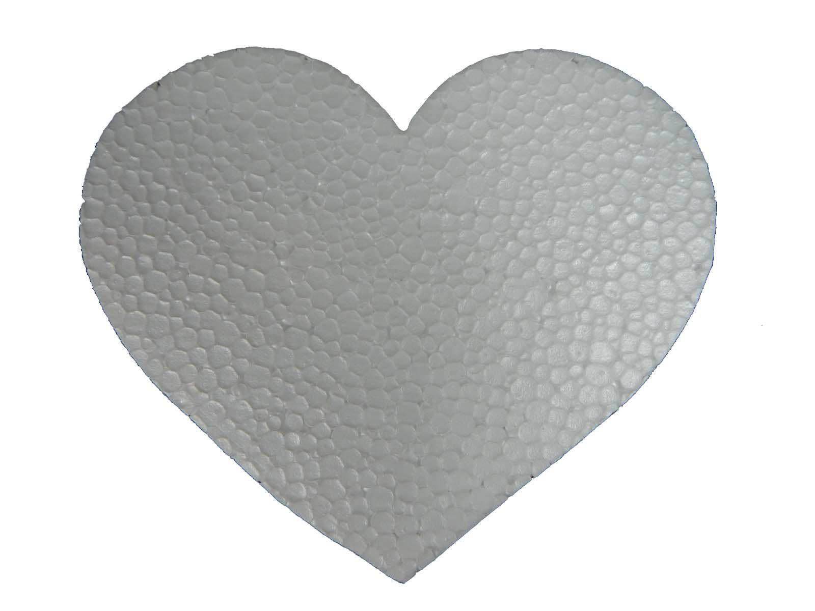 Recorte Coração em Isopor