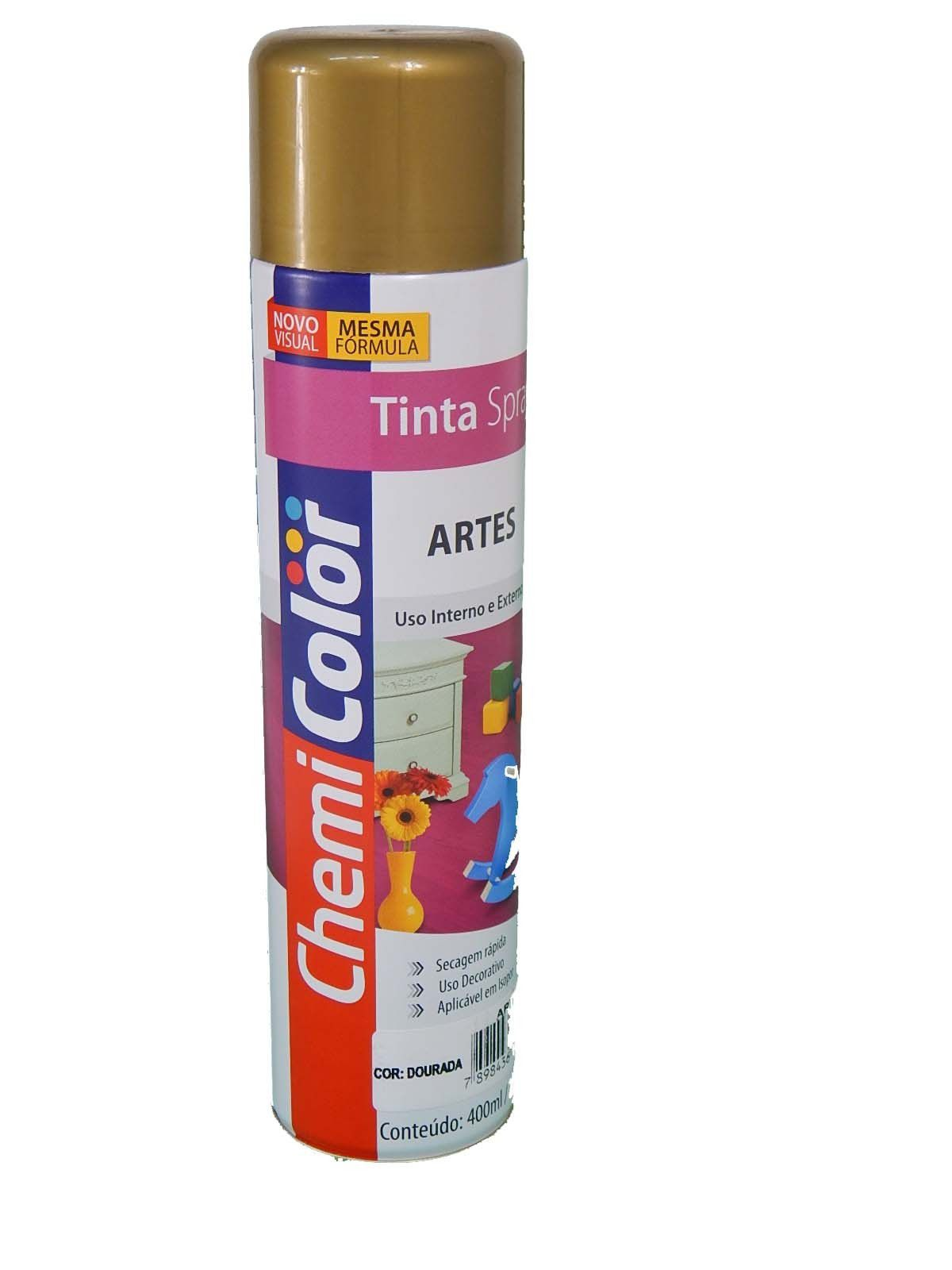 Spray Chemi Color 400ml Metalico