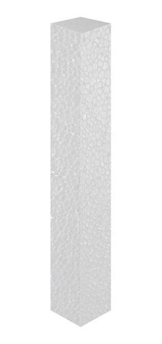 Tarugo Em Isopor 10x50cm Pacote Com - 40 Unidades