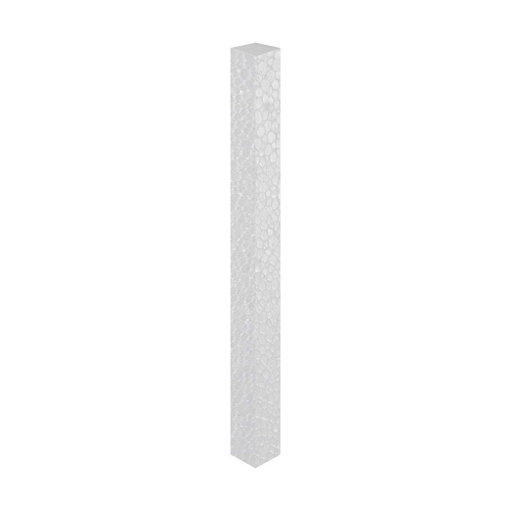 Tarugo em isopor 2,5cm x 50cm comprimento