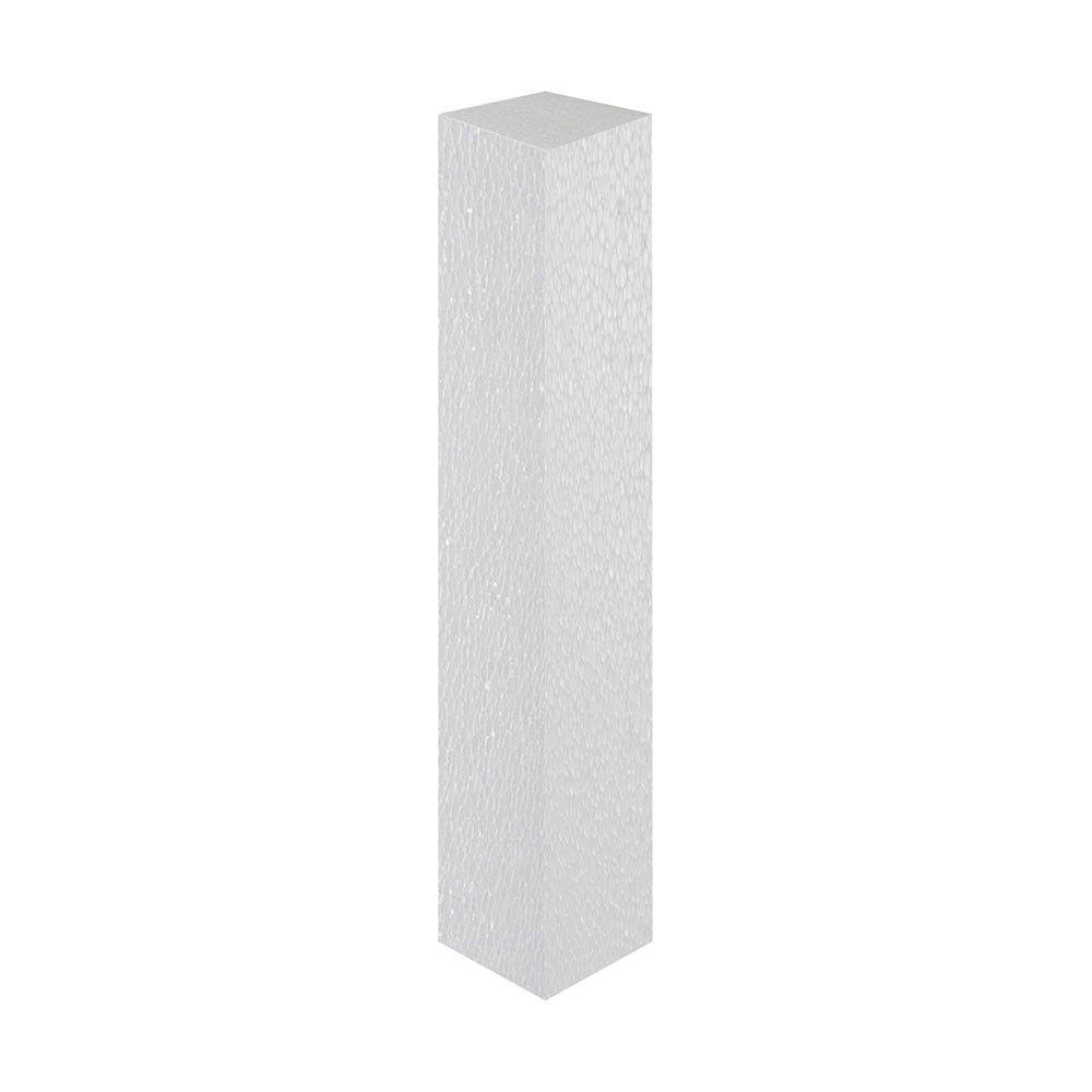 Tarugo em isopor 7,5cm x 50cm comprimento