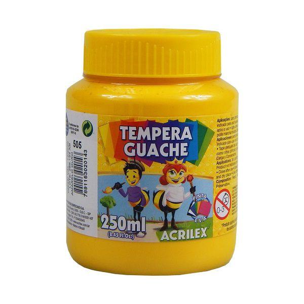 Tinta Guache Acrilex 250ml