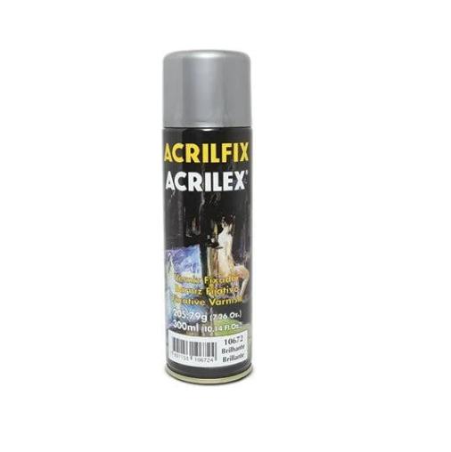 Verniz Spray Acrilfix Acrilex Brilhante