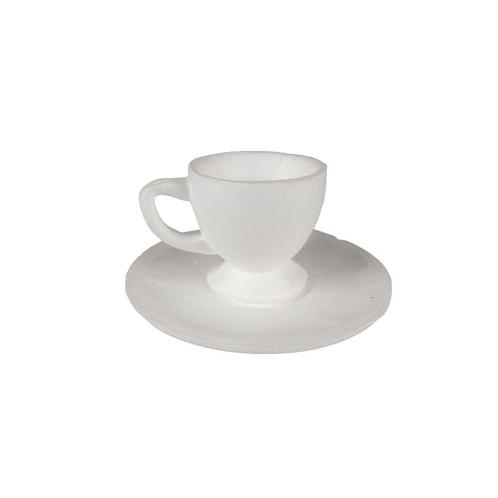 Xícara de Café com Pires em Isopor 01UN