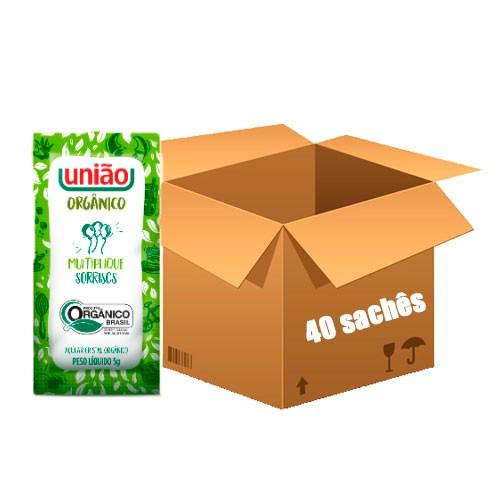 Açúcar União Orgânico com 40 Sachês