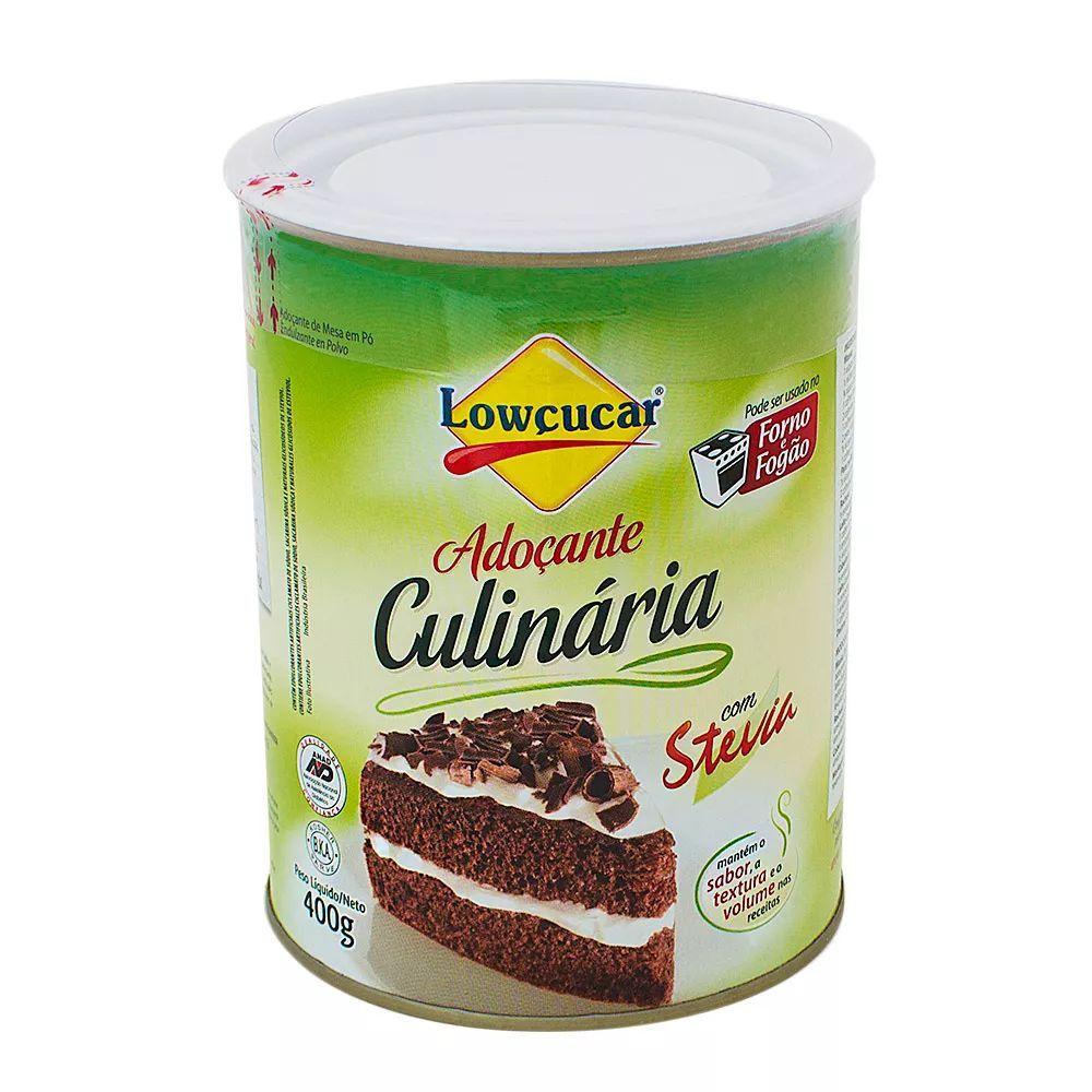 Adoçante Culinário Stevia Diet Lowçucar 400g