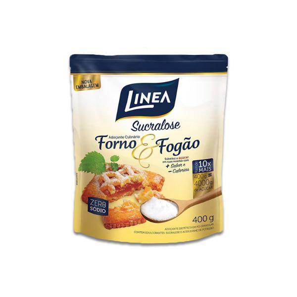 Adoçante Culinário Sucralose Forno e Fogão Linea 400g