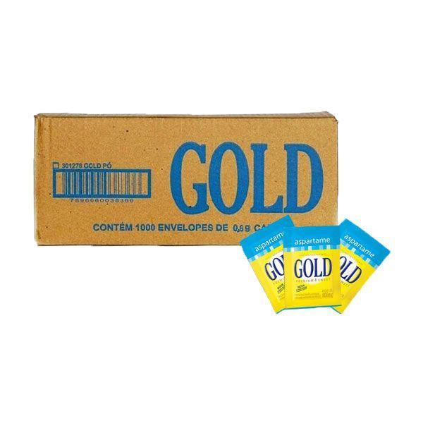Adoçante Gold Aspartame C/1000 Sachês