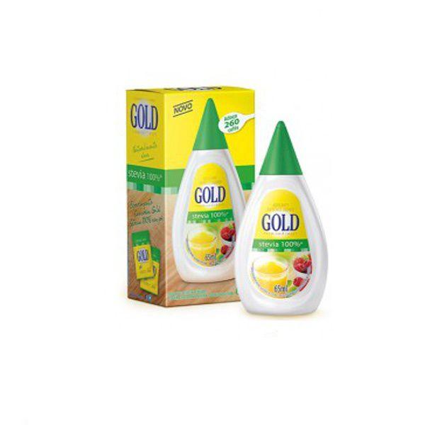 Adoçante Gold Stevia 65ml