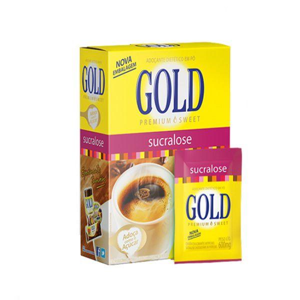 Adoçante Gold Sucralose C/50 Sachês