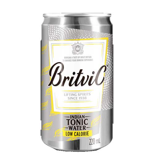 Água Tônica Britvic Zero Açúcar Indian Tonic Water UNIDADE 220ml