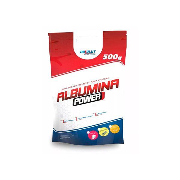 Albumina Power Zero Açúcar Absolut Nutrition Baunilha 500g