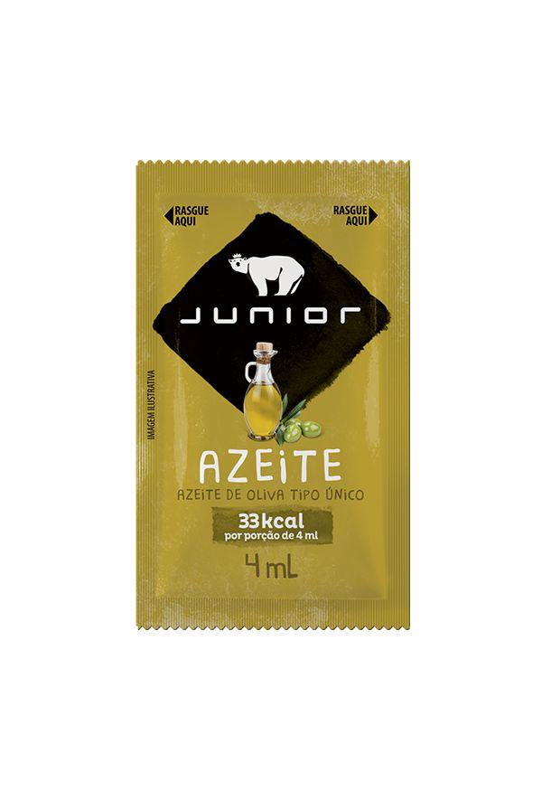 Azeite De Oliva Junior Tipo Único Contendo 200 Sachês De 4ml Cada