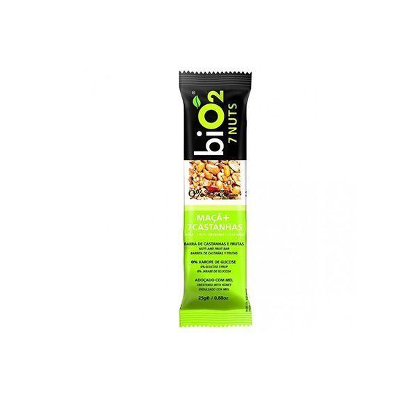 Barra De Cereal biO2 7nuts Maçã 25g