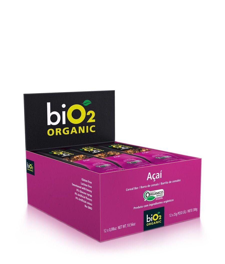 Barra De Cereal biO2 Seeds Açaí c/12 un