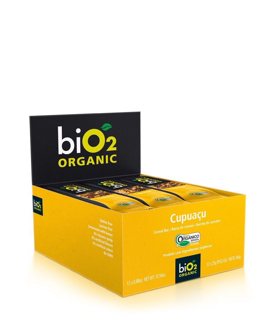 Barra De Cereal biO2 Seeds Cupuaçu c/12 un