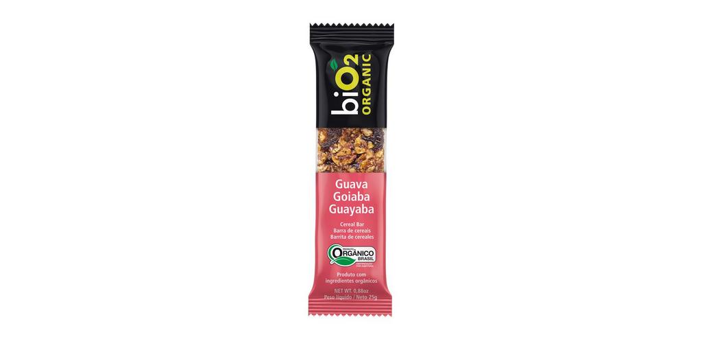 Barra De Cereal biO2 Organic Goiaba 25g