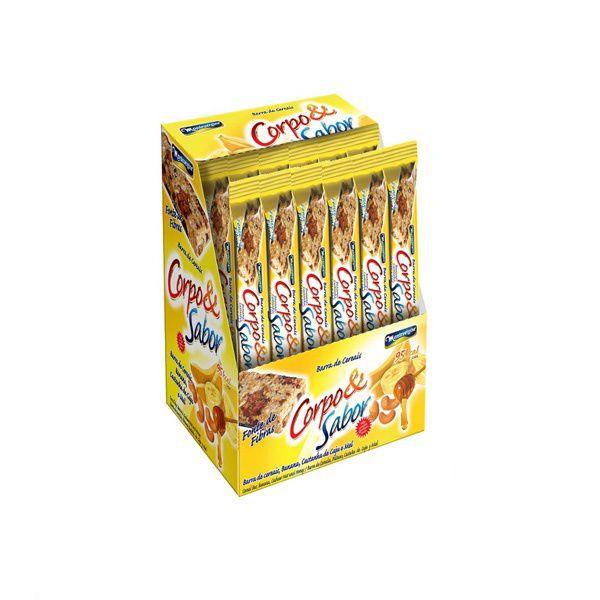 Barra De Cereal Montevergine de Banana E Mel 24/un