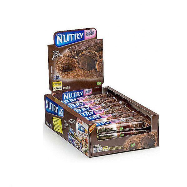 Barra De Cereal Nutry Trufa contendo 24 unidades