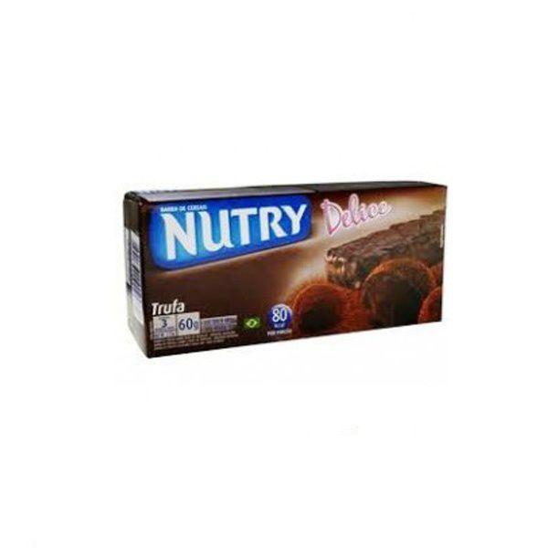 Barra De Cereal Nutry Trufa contendo 3 unidades