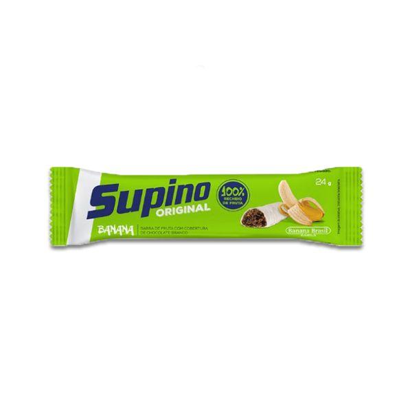 Barra De Frutas Supino Banana com Chocolate Branco Tradicional UNIDADE