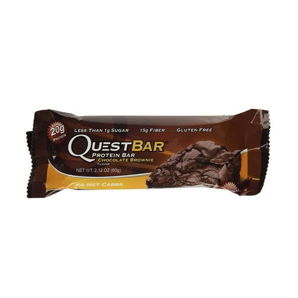 Barra Proteínas Quest Chocolate Brownie 60g