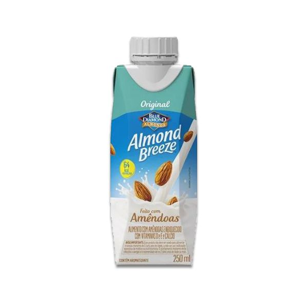 Bebida Vegetal de Amêndoas Original Almond Breeze 250ml